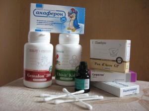 Препараты для облегчения симптомов ветрянки