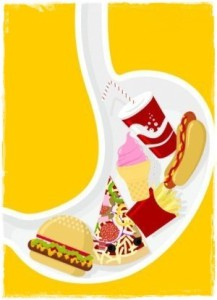 Длительность переваривания пищи